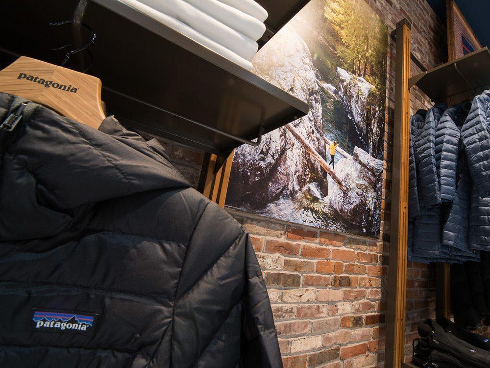 Patagonia Brick Wall