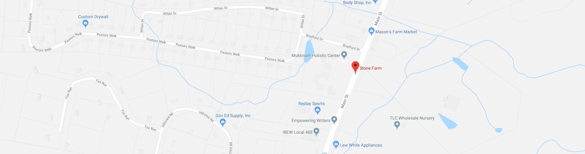 Find Stone Farm on Google Maps